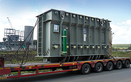 Delivery of materials and equipment for 0.4–220 kV electric power supply systems